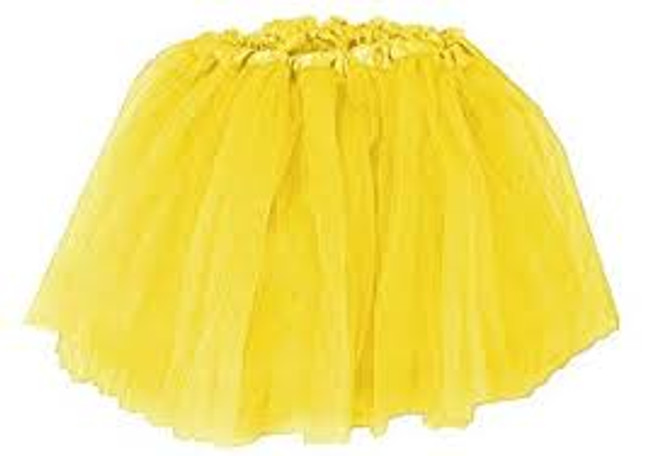 Yellow Child's Ballet Tutu
