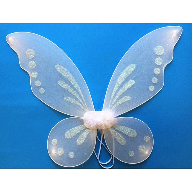 These Pixie Fairy wings are the perfect final touch to your fairy costume! Ideal for older children, teens and adults.