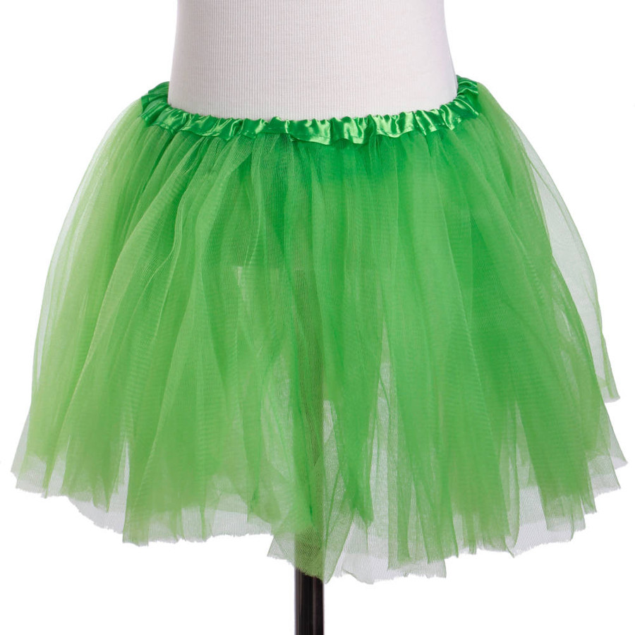Green Child's Ballet Tutu 3 Layered Soft Tulle