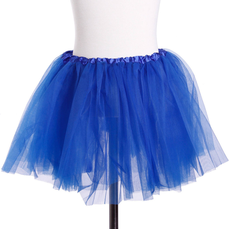 Royal Blue Child's Ballet Tutu 3 Layered Soft Tulle