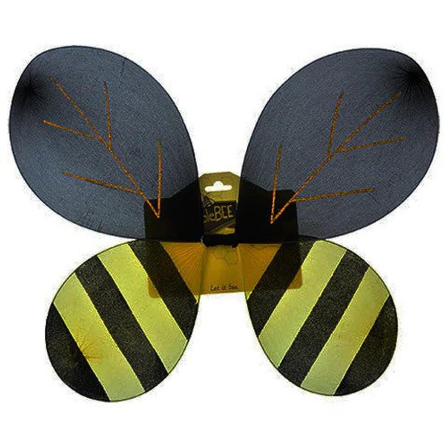 These bumble bee wings are   14.5 x 17.5 inches.
