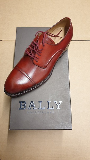 Bally Shoes - Ex Display Red Leather Lace Up