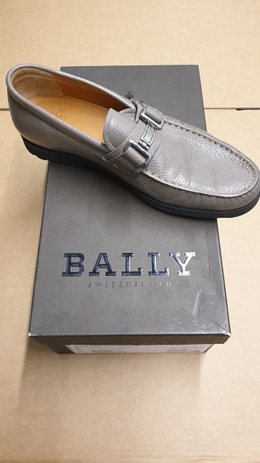 Bally Shoes - Ex Display -  Grey Leather Strap