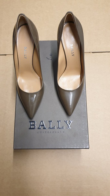 Bally Shoes -  Military Leather Heel Pump