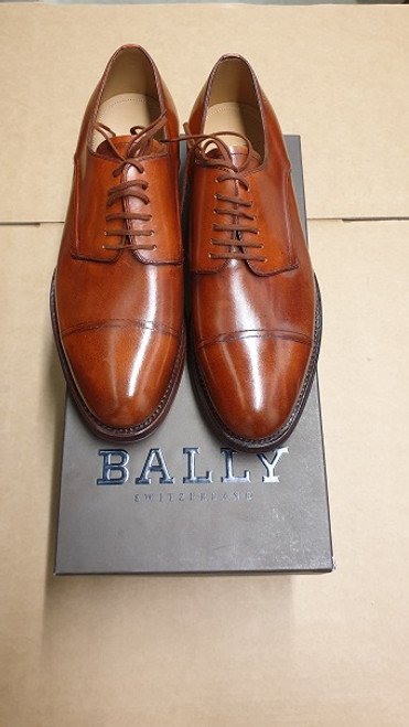 Bally Shoes - Ex Display -  Brown Leather Handpaint Lace Up