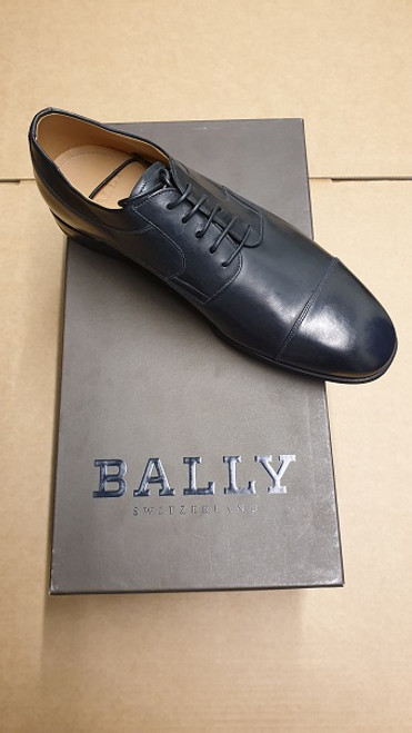 Bally Shoes - Ex Display Black Leather Lace Up