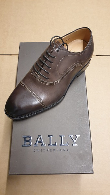 Bally Shoes - Ex Display - Ebano Leather Lace Up