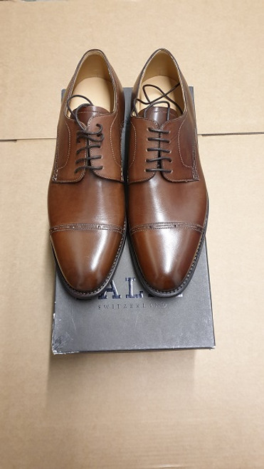 Bally Shoes - Ex Display Light Brown Lace Up Leather