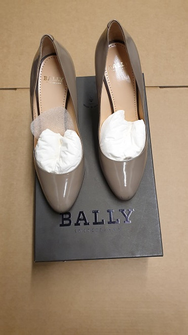 Bally Shoes - Ex Display - Fawn Leather Heel Pumps