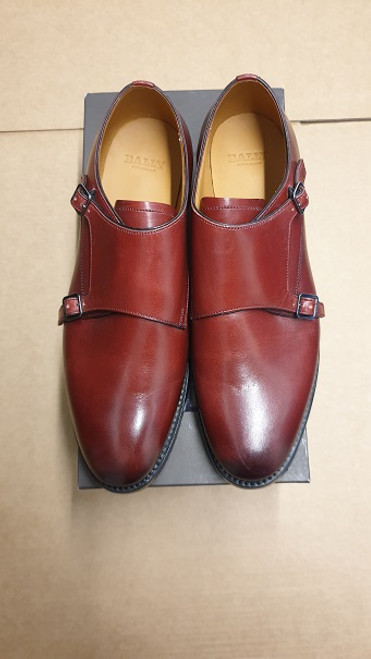 Bally Shoes Ex Display Double Leather Strap