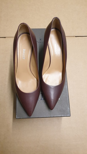 Bally Shoes Ex Display Leather Heel Pumps