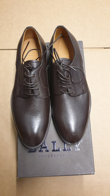 Bally Leather Lace Up Shoe