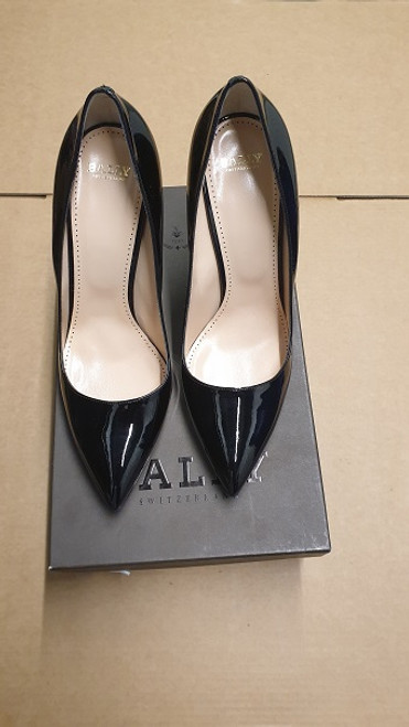 Bally Shoes - Ex Display Black Court Shoe