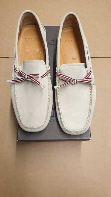Bally Loafers - Ex Display Oat Bovine Suede