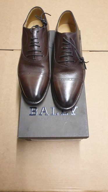Bally - Ex Display Moka Calf Plain Shoe