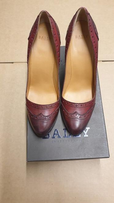 Bally Women Shoes - Ex Display - Red Calf Coated Women Shoe