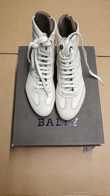 Bally - Ex Display - Blanc Bovine Suede Sneakers