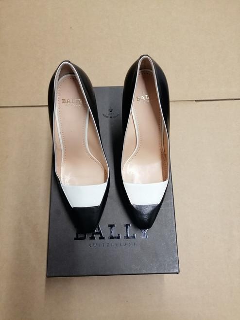 Bally Women Shoes - Ex Display - Black Kid Plain
