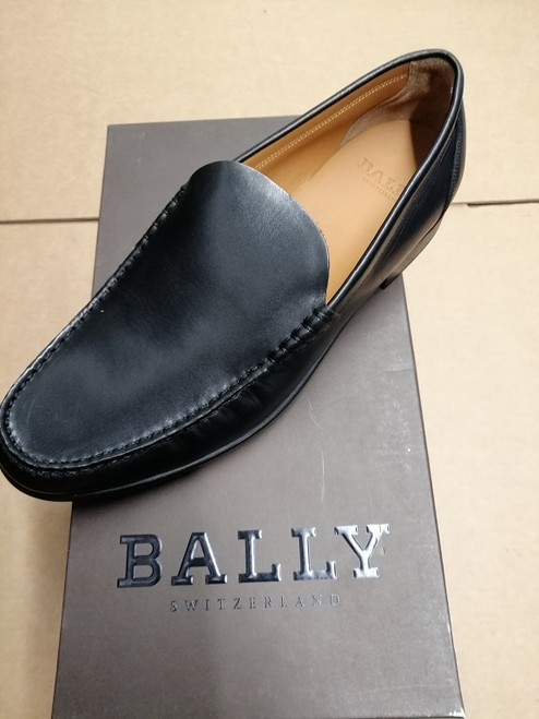 Bally Men Shoes - Ex Display - Black Calf Plain