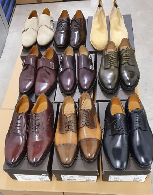 Wholesale Bally Men Designer Shoes - 10 Mixed Pairs