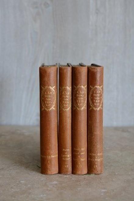 Antique Leatherbound Book