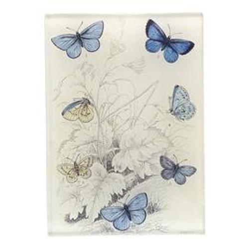 """John Derian Polyommatus 3.5"""" x 5"""" Tiny Rectangular Tray"""