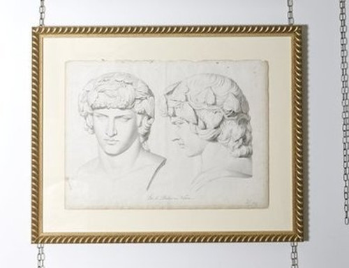 Rare Volpato Sculpture Head study from Italy c. 1755