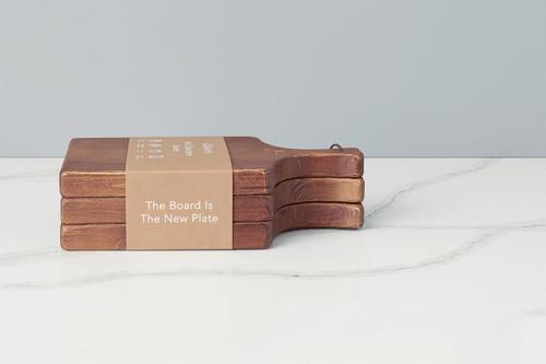 Etú Home Mini Charcuterie Board Set of 3 (Natural)