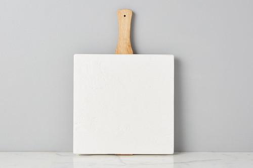 Etú Home Square Italian Pizza Board, Small (White)