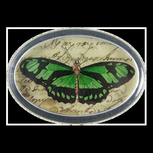 John Derian Emerald Butterfly