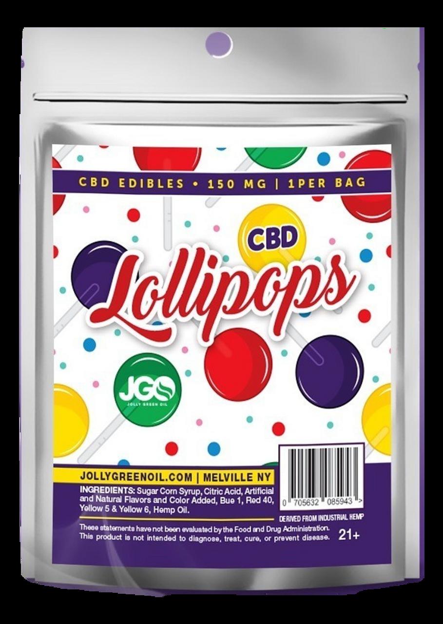 Jolly Green Oil: CBD Lollipop (150mg)
