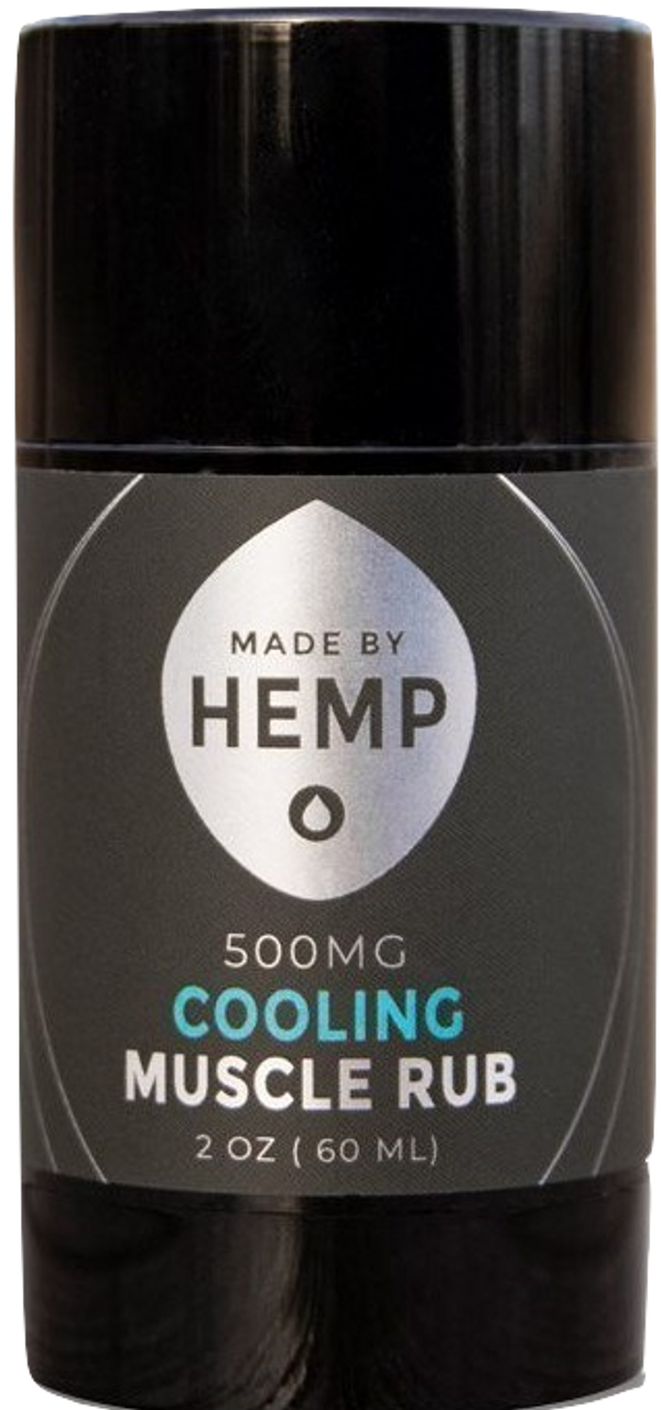 hemp cooling muscle rub