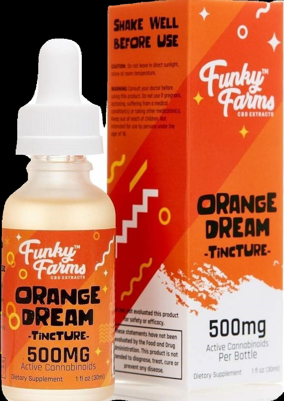 Funky Farms: Orange Dream CBD Tincture (500mg)