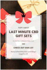 Top 5 Last Minute CBD Gifts for the Hard to Shop for Hemp Lover