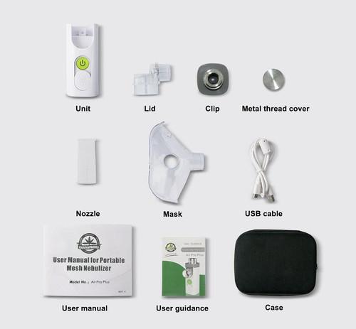 Cannapresso: Air Pro Plus Mesh CBD Nebulizer