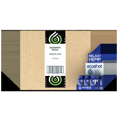 Eco Sciences: ECOShot Chill Relaxation CBD Shot (25mg) Master Case