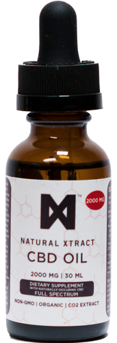 NaturalXtract: Full Spectrum CBD Tincture (2000mg)