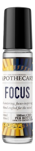The Brothers Apothecary: Focus CBD Essential Oil Roll On (100mg)