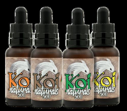 Koi CBD Naturals: Full Spectrum Tincture Variety Pack (1000mg)