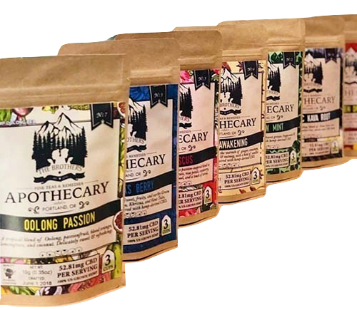 The Brothers Apothecary: CBD Infused Hemp Tea Gift Pack