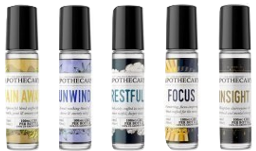 The Brothers Apothecary: CBD Essential Oil Roll On Bundle