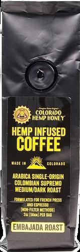 Colorado Hemp Honey: CBD Hemp Infused Coffee (43mg) Case of 12