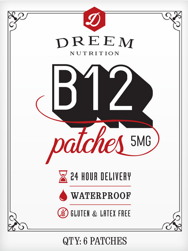 DREEM: Vitamin B12 Transdermal Patches (5mg)