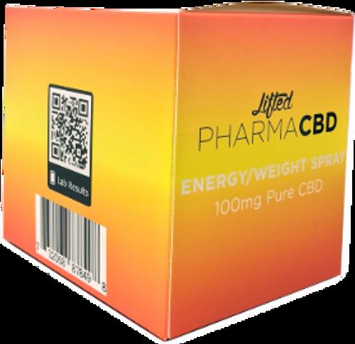 Lifted: Energy & Weight Loss CBD Spray (100mg)