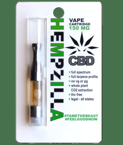 Hempzilla: CBD Vape Cartridge (150mg)