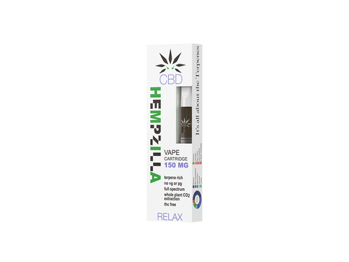 Hempzilla: Relax 510 CBD Cartridge (150mg)