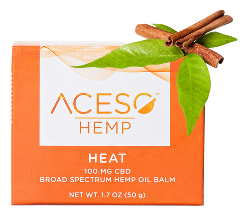 ACESO: CBD Heat Balm (100mg)