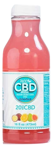 HCC: POG CBD Water (20mg)