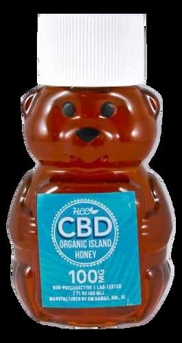 HCC: Organic Hawaiian CBD Honey (100mg)