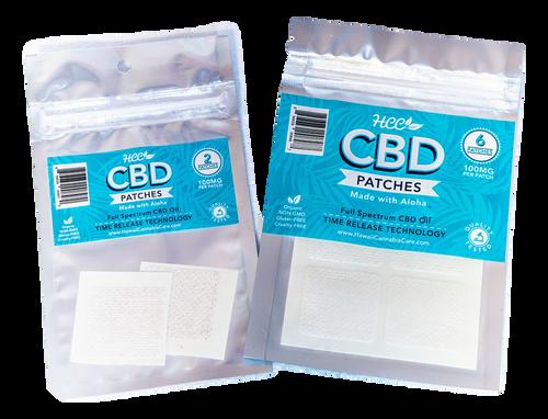 HCC: CBD Patches (600mg)